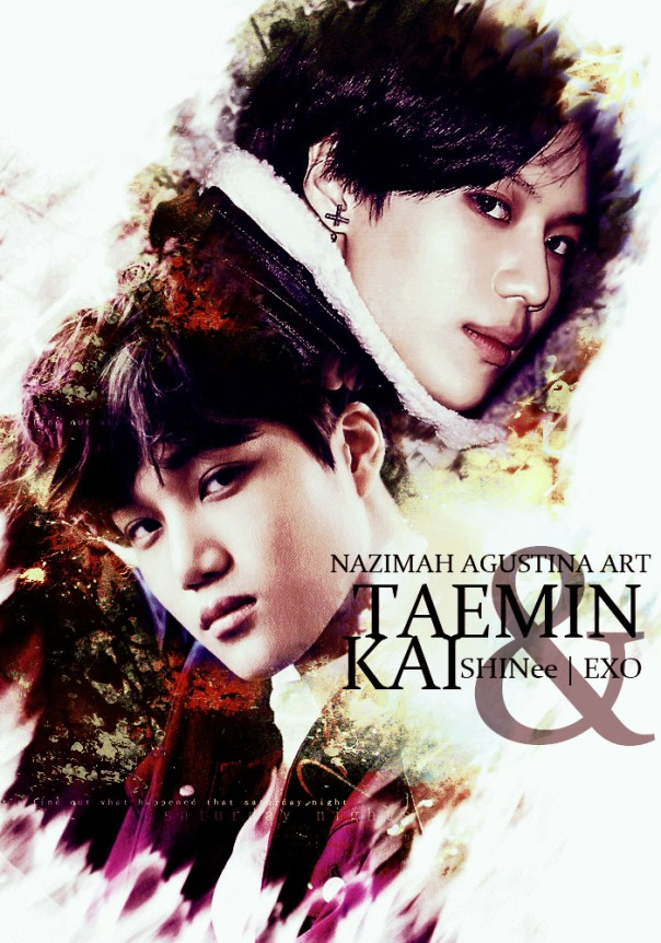 TAEKAI 2015 cover season greeting exo shinee kim jongin lee taemin by nazimah agustina