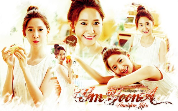 yoona innisfree jeju wallpaper snsd cute simple 2015 by nazimah agustina