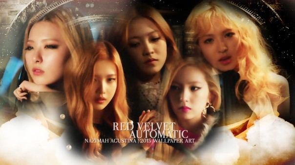 AUTOMATIC RV red velvet ot5 mv capture wallpaper irene seulgi wendy joy yeri by nazimah agustina