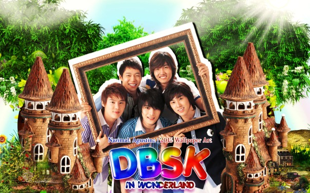 DBSK wonderland tvxq ot5 cute nature by nazimah agustina