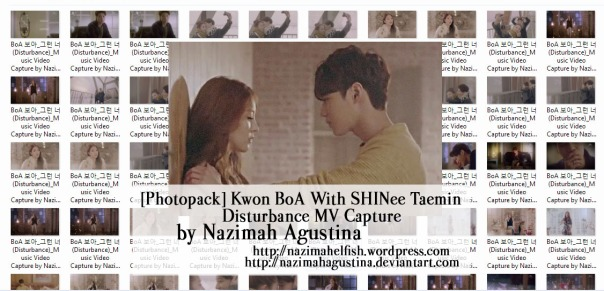 download photopack kwon boa shinee taemin disturbance drama mv capture screencaps preview by nazimah agustina