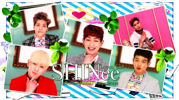 dream girl shinee wallpaper by nazimah agustina mv capture cute scrapbook onew jonghyun taemin minho