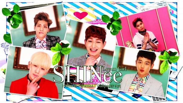 dream girl shinee wallpaper by nazimah agustina mv capture cute scrapbook onew jonghyun taemin minho