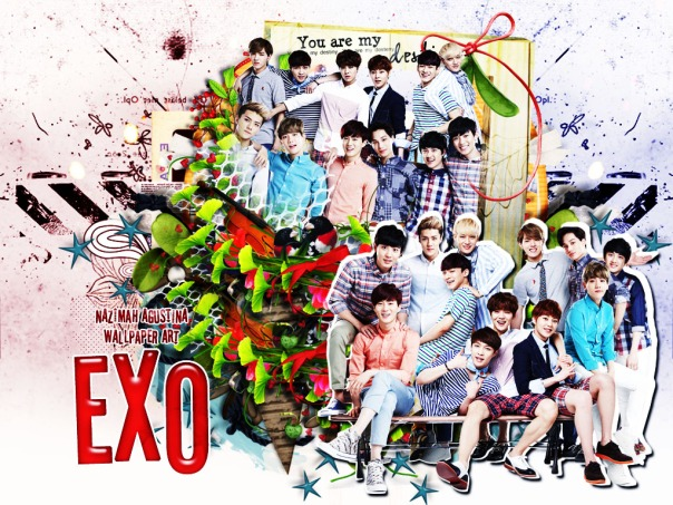 exo lotte ot12 2015 fancy cute wallpaper by nazimah agustina