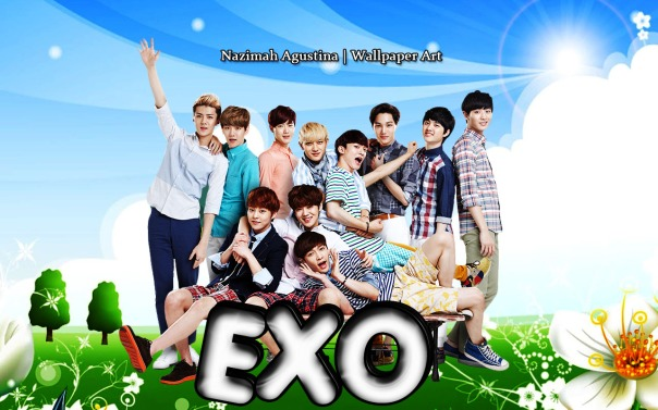 exo nature ot11 wallpaper by nazimah agustina 2014