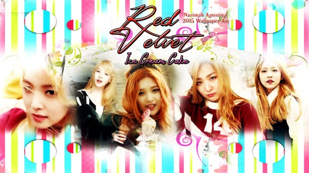 ice cream cake red velvet 1st album irene joy wiendy seulgi yeri wallpaper by nazimah agustina