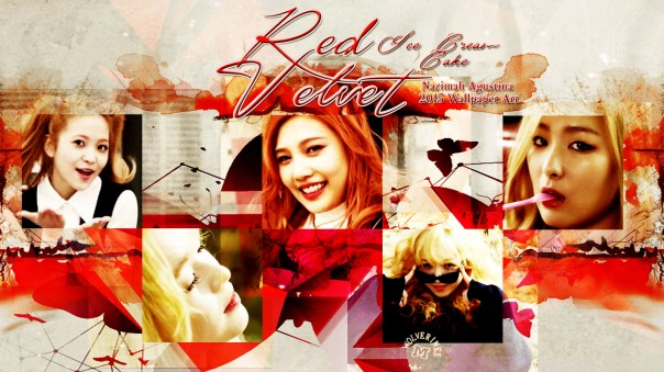 Edit Stock Red Velvet For Ice Cream Cake Wallpaper