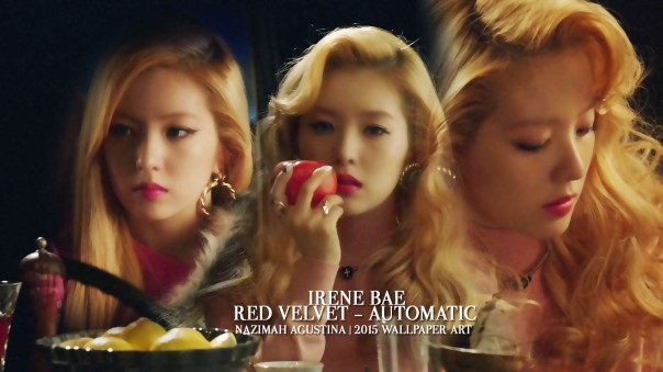 IRENE AUTOMATIC bae leader beauty elegan wallpaper by nazimah agustina red velvet rv