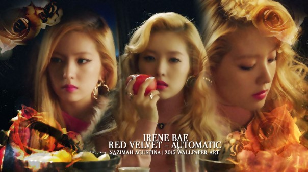 IRENE AUTOMATIC bae leader beauty elegan wallpaper by nazimah agustina red velvet
