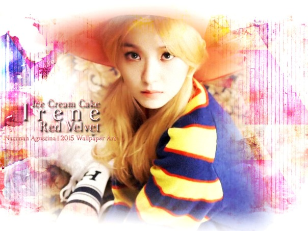 irene ice cream cake cute pretty leader bae wallpaper by nazimah agustina