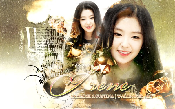 irene red velvet bae joohyun soft vintage wallpaper