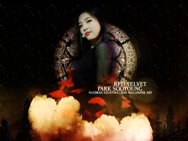 JOY RV park sooyong red velvet new sexy wallpaper by nazimah agustina