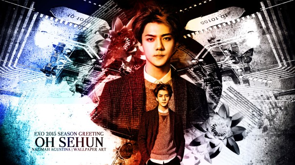 oh sehun exo sehoon wallpaper vintage light scrap by nazimah agustina new 2015