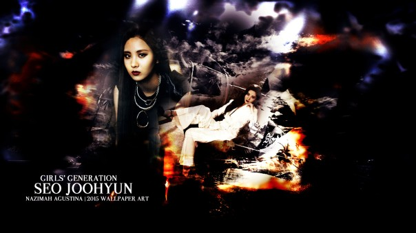 seohyun snsd seo joohyun abstract light wallpaper 2015 by nazimah agustina art design