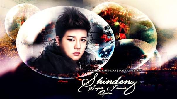 shindong opera mv photoshoot teaser smudge painting super junior by nazimah agustina wallpaper