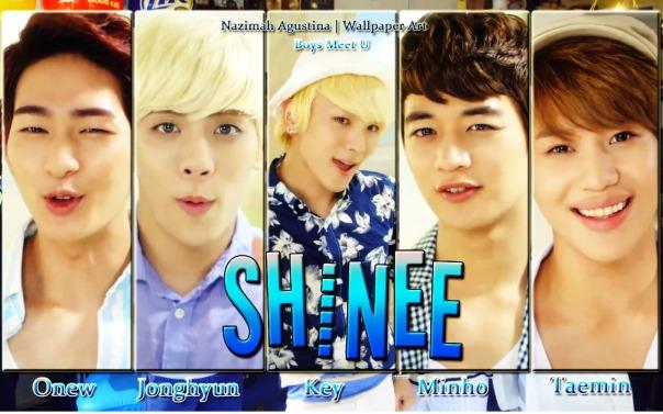 shinee boys meet u mvcapture wallpaper onew jonghyun key minho taemin by nazimah agustina
