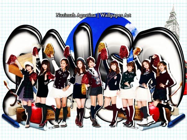 SNSD school life taeyeon jessica tiffany sunny hyoyeon yuri sooyoung yoona seohyun cute ivy club wallpaper by nazimah agustina