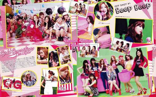 snsd sone note vol 2 wallpaper scrapbook cute magazine