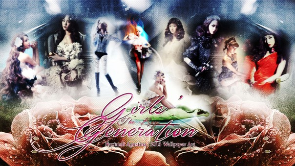 snsd the boys era graphic abstract angel version wallpaper girls generation by nazimah agustina