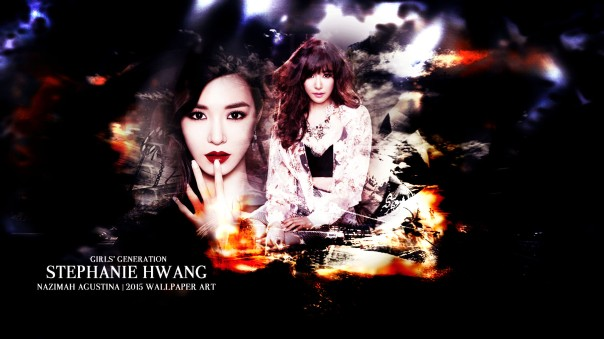 stephanie hwang miyong tiffany snsd abstract light wallpaper 2015 by nazimah agustina art design