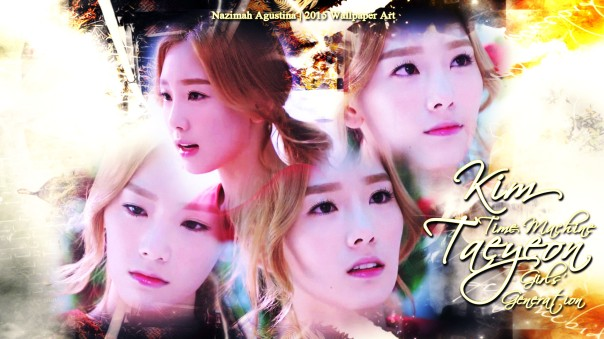 taeyeon time machine snsd girls' generation kim by nazimah agustina