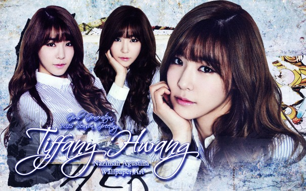 tiffany 2015 hwang season greeting snsd by nnazimah agustina wallpaper