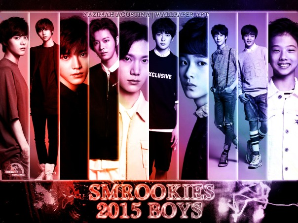 2015 smROOKIES boys wallpaper taeyong ten yuta hansol jaehyun mark jeno jisung by nazimah agustina