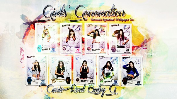 baby-g snsd real casio 2014 girls generation wallpaper by nazimah agustina
