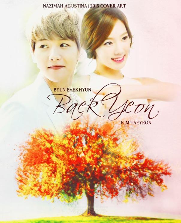 baekyeon cover poster baekyun exo taeyeon snsd elegant soft romance fluff by nazimah agustina 2015