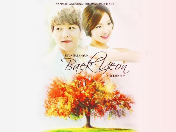 baekyeon wallpaper baekyun exo taeyeon snsd elegant soft romance fluff by nazimah agustina 2015