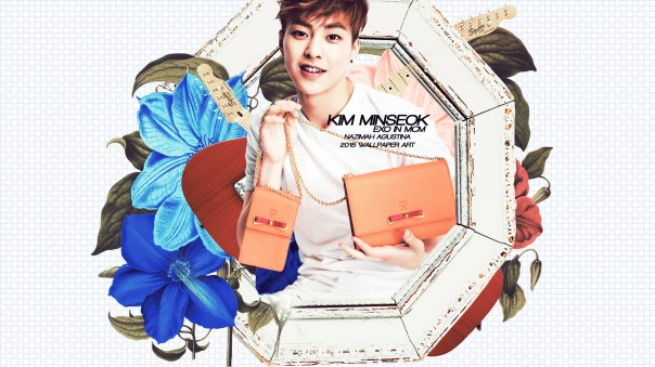 exo mcm bag 2015 cg wallpaper cute xiumin chen baekhyun suho do kai tao by nazimah agustina fancy simple (1)