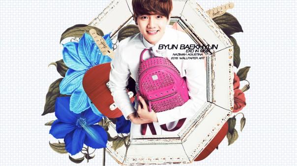 exo mcm bag 2015 cg wallpaper cute xiumin chen baekhyun suho do kai tao by nazimah agustina fancy simple (2)