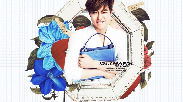 exo mcm bag 2015 cg wallpaper cute xiumin chen baekhyun suho do kai tao by nazimah agustina fancy simple (5)
