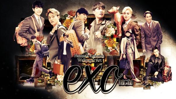 EXO MCM cf ot10 chanyeol kai baekhyun lay chen suho do sehun tao xiumin wallpaper by nazimah agustina 2015