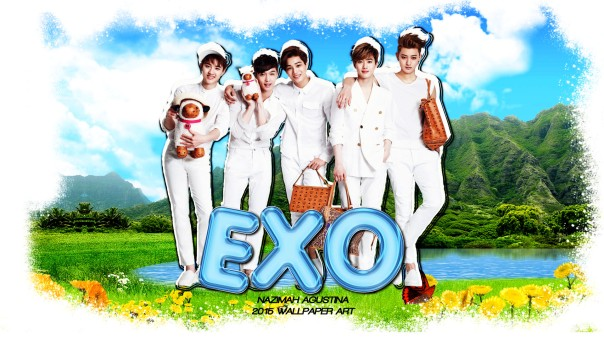 EXO MCM lay do kai suho tao wallpaper cute nature by nazimah agustina 2015
