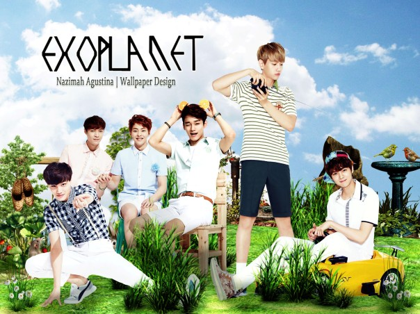 exo nature wallpaper ivyclub by nazimah agustina 2015 cute fresh green