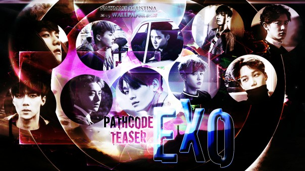 exo pathcode teaser exodus wallpaper graphic by nazimah agustina