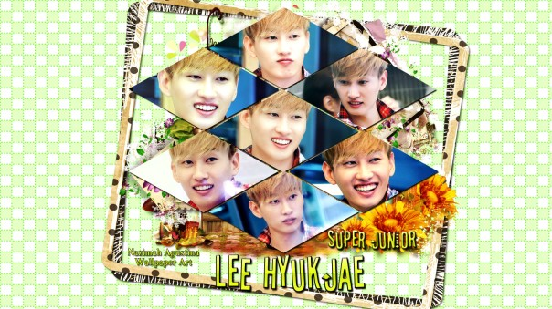 hyukjae lee super junior eunhyuk wallpaper by nazimah agustina