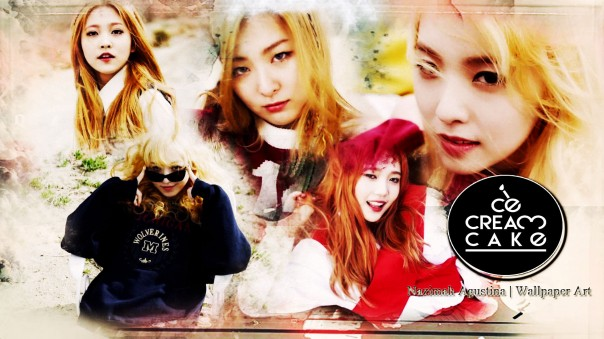 ice cream cake red velvet comeback 1st mini album yeri wendy seulgi joy irene wallpaper by nazimah agustina