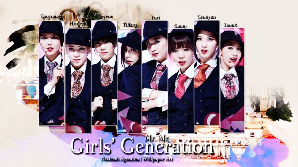 mrmr snsd girls generation wallpaper by nazimah agustina