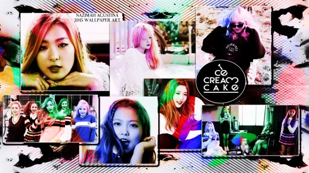 red velvet ice cream cake wallpaper era 2015 by nazimah agustina
