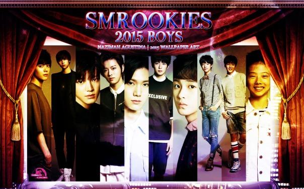 smrookies 2015 boys wallpaper taeyong yuta hansol ten jaehyun jeno mark jisung by nazimah agustina