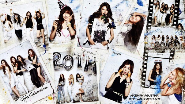 snsd baby-g real casio 2014 wallpaper by nazimah agustina ot9