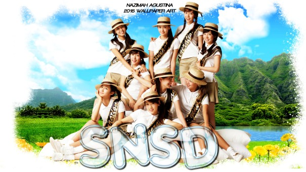 SNSD into the new world girls generation cute nature by nazimah agustina