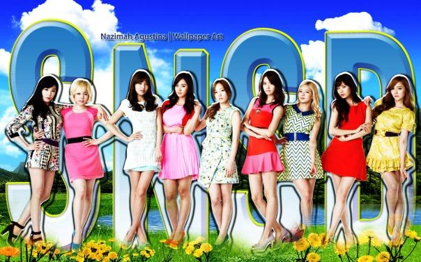 snsd nature wallpaper ot9 lotte duty 2015 fresh tiffany hyoyeon sooyoung yuri taeyeon yoona sunny seohyun jessica by nazimah agustina