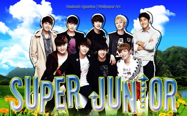super junior nature fresh wallpaper ot10 by nazimah agustina