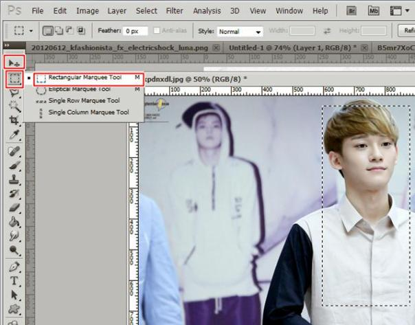 tutorial stock how to make poster cover fanfiction wendy chen onew luna new 5
