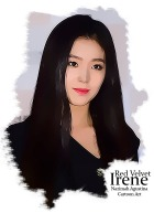 cartoon irene red velvet bae by nazimah agustina