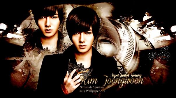 kim yesung joongwoon super junior wallpaper 2015 by nazimah agustina