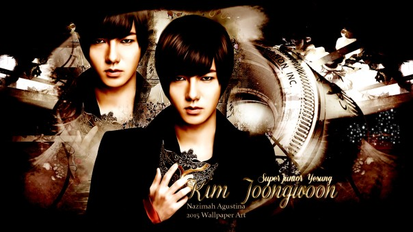 kim yesung joongwoon super junior wallpaper 2015 by nazimah agustina